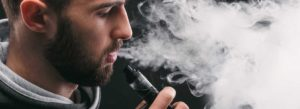 Picture of a person vaping